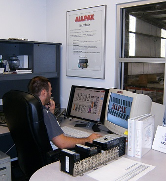 Allpax technicians are always available for critical support questions
