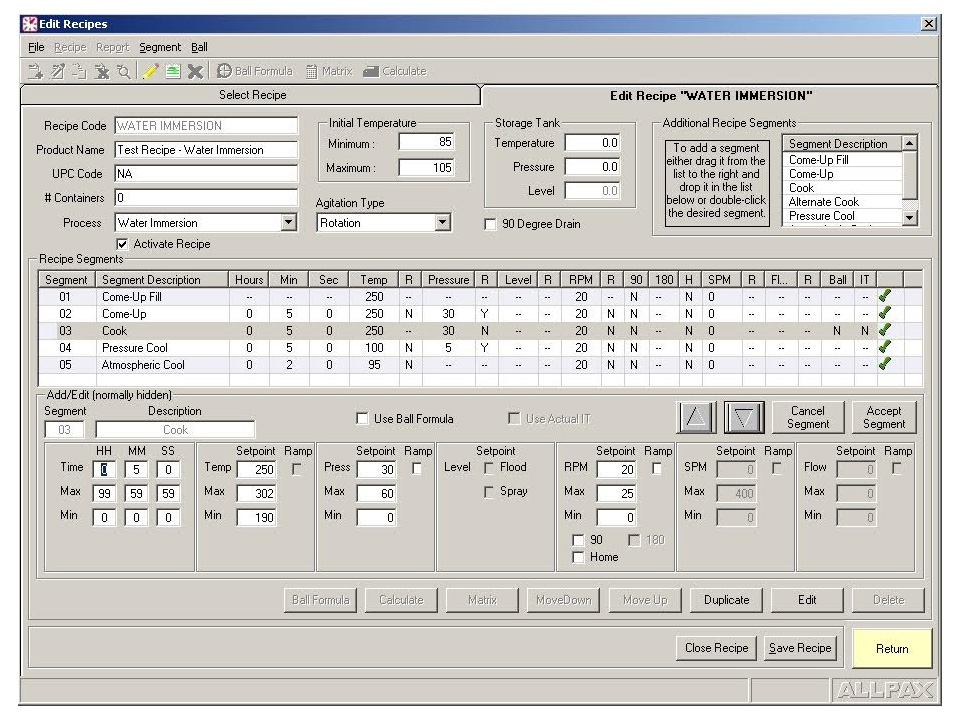 Monitor Host Package - Retort Systems Software