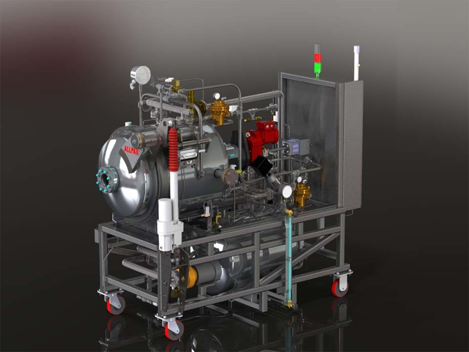 Multimode R&D Retort - 2402 Series - R&D Retorts