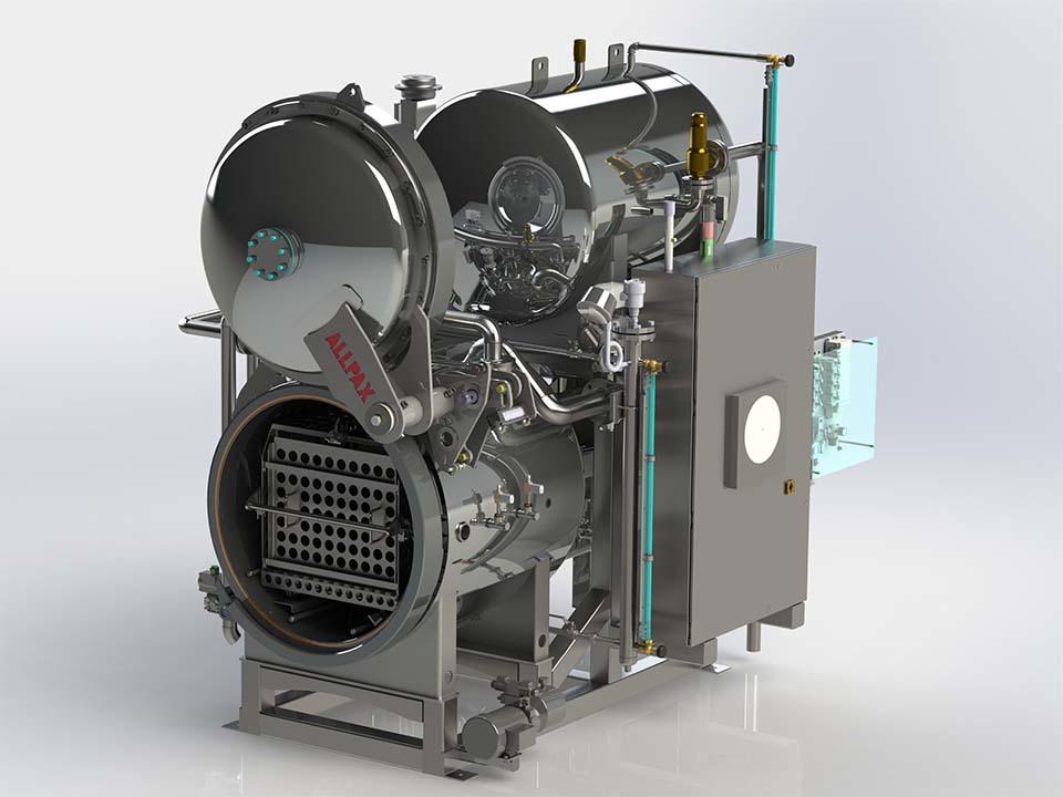 Multimode R&D Retort - 3802 Series - R&D Retorts